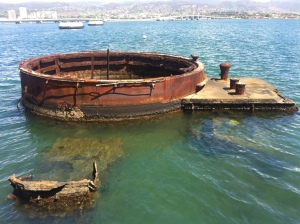Remains from the Pearl Harbour attack